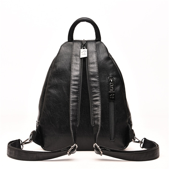 Leather Backpack for Women