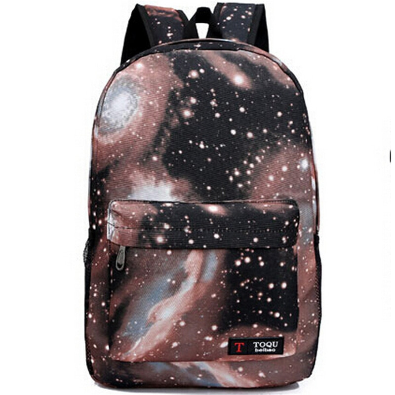 Casual Galaxy Universe Printed Backpack