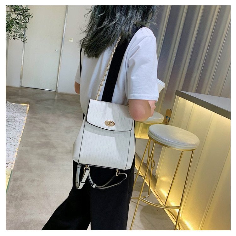 Women's Chain Detail Backpack