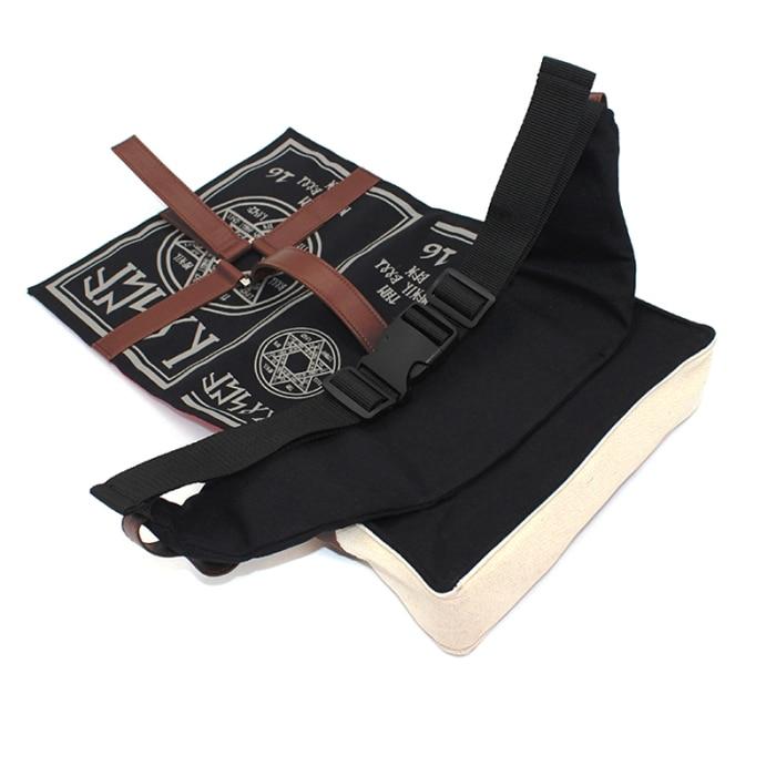 Gothic Magical Spell Book Messenger Bag