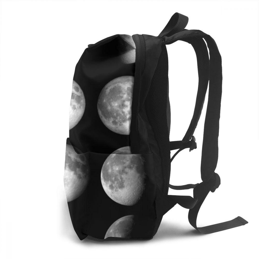 Women's Half Moon Printed Backpack
