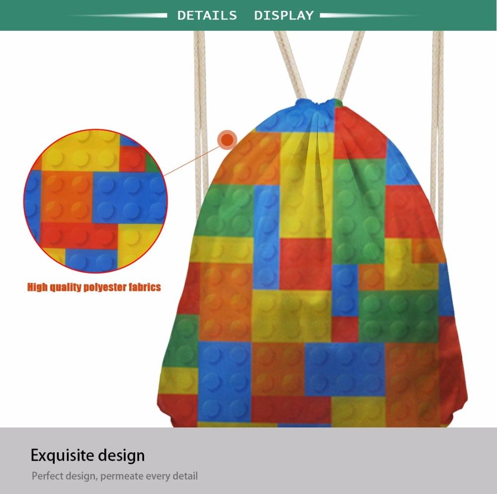 3D Animal Printed Drawstring Bag