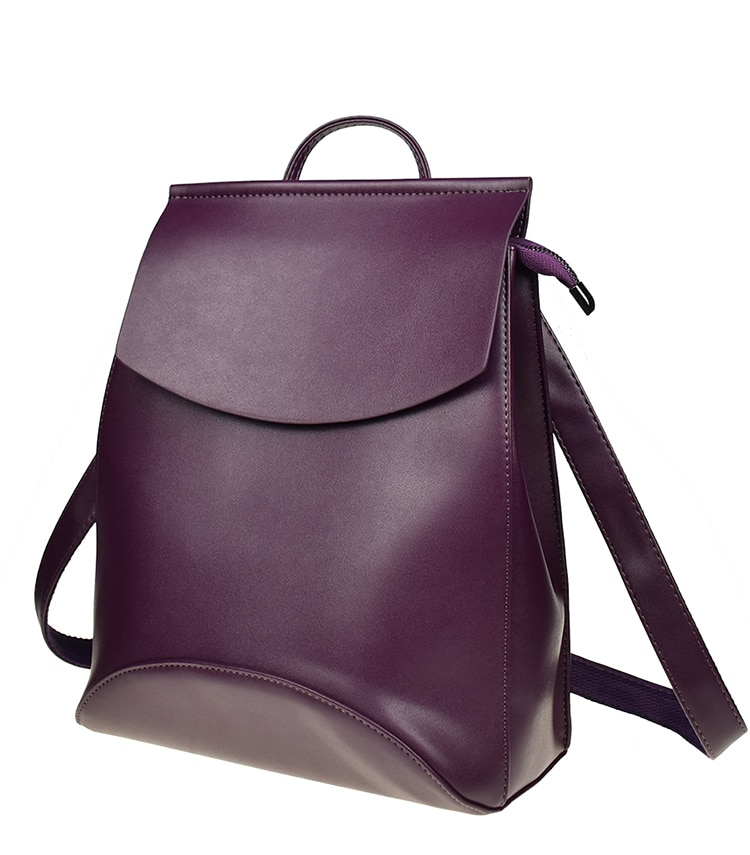 Women's 20l Leather Backpack