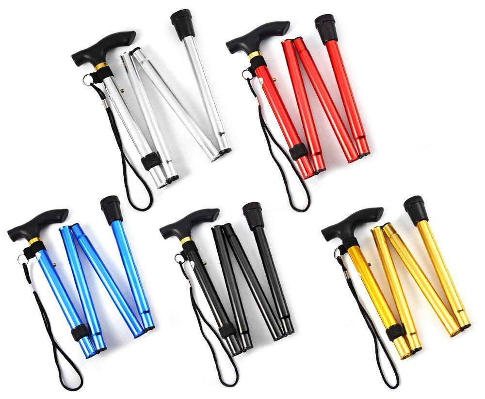 Aluminum T-Handle Walking Stick