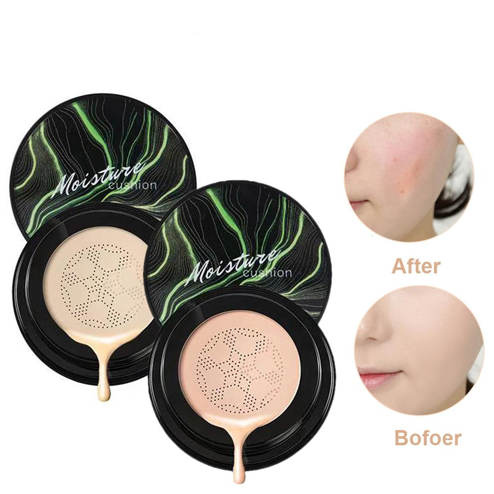 Whitening Makeup Foundation Cream with Puff