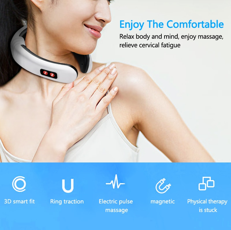 6 Modes Electric Neck Massager