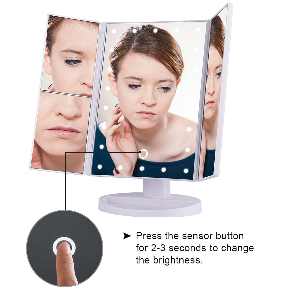 22 LEDs Makeup Mirror