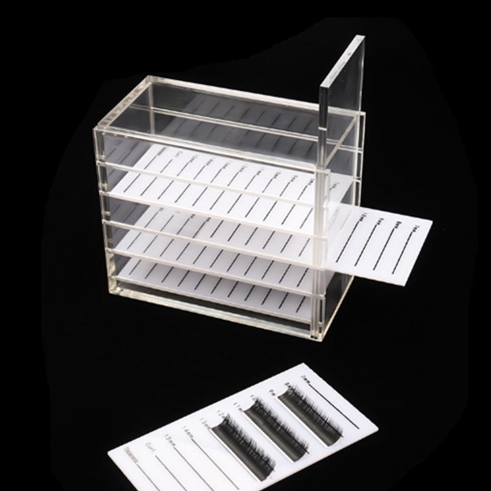 5 Layers Transparent Eyelash Extension Organizer