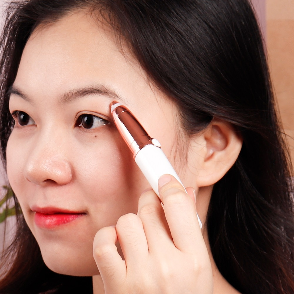 LED Indicator Electric Eyebrow Trimmer