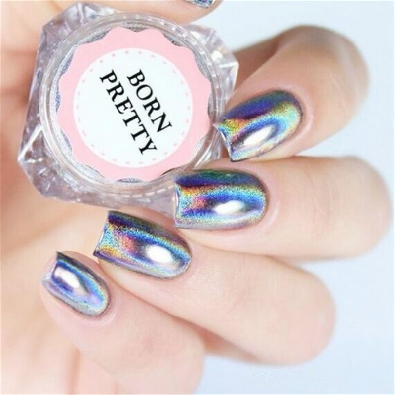 Chameleon Holographic Nail Powder