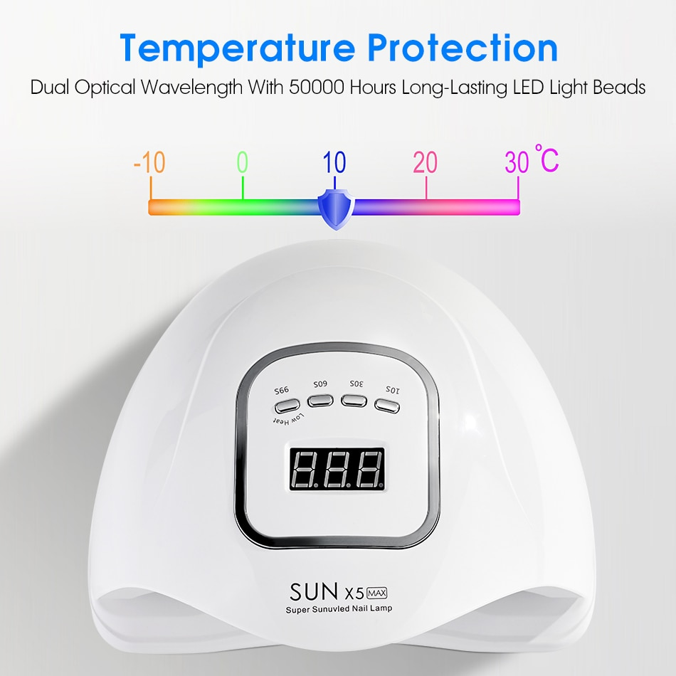 UV Nail Dryer with LCD Display