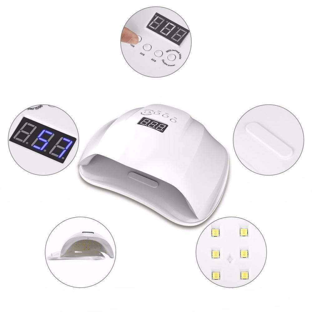 LED and UV Nail Drying Lamp