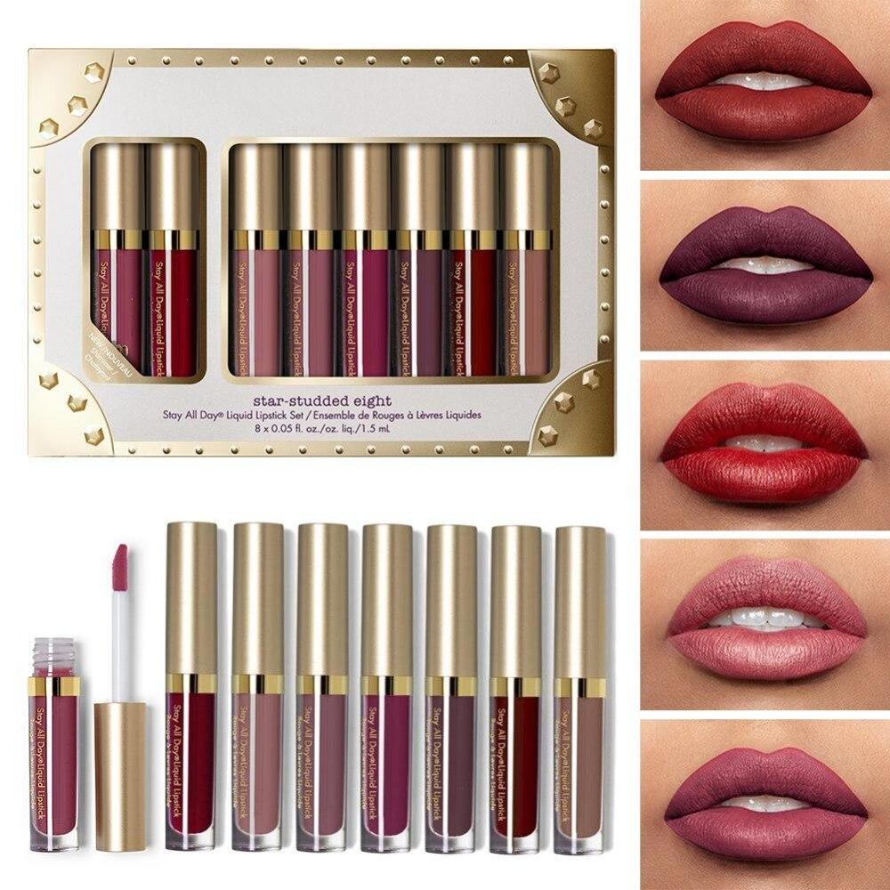 Avocado Oil Lip Gloss 8 Pcs Set