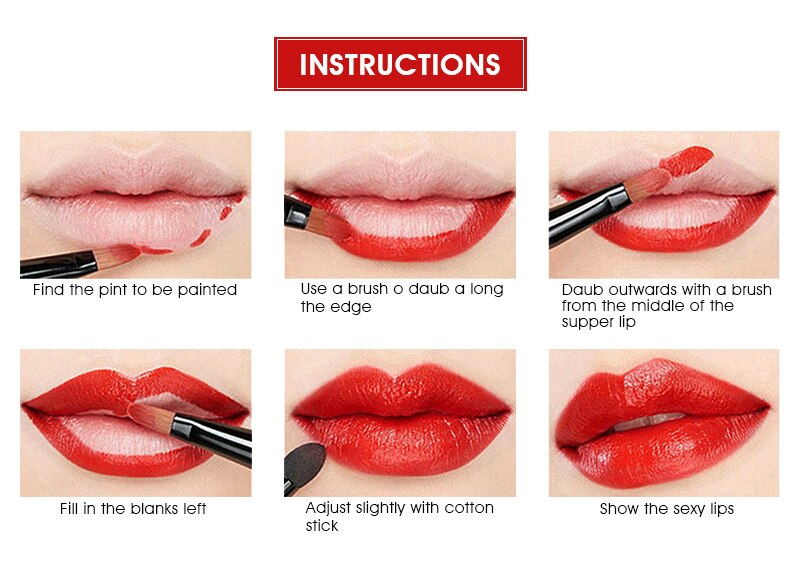 Easy to Wear Matte Lipstick for Makeup