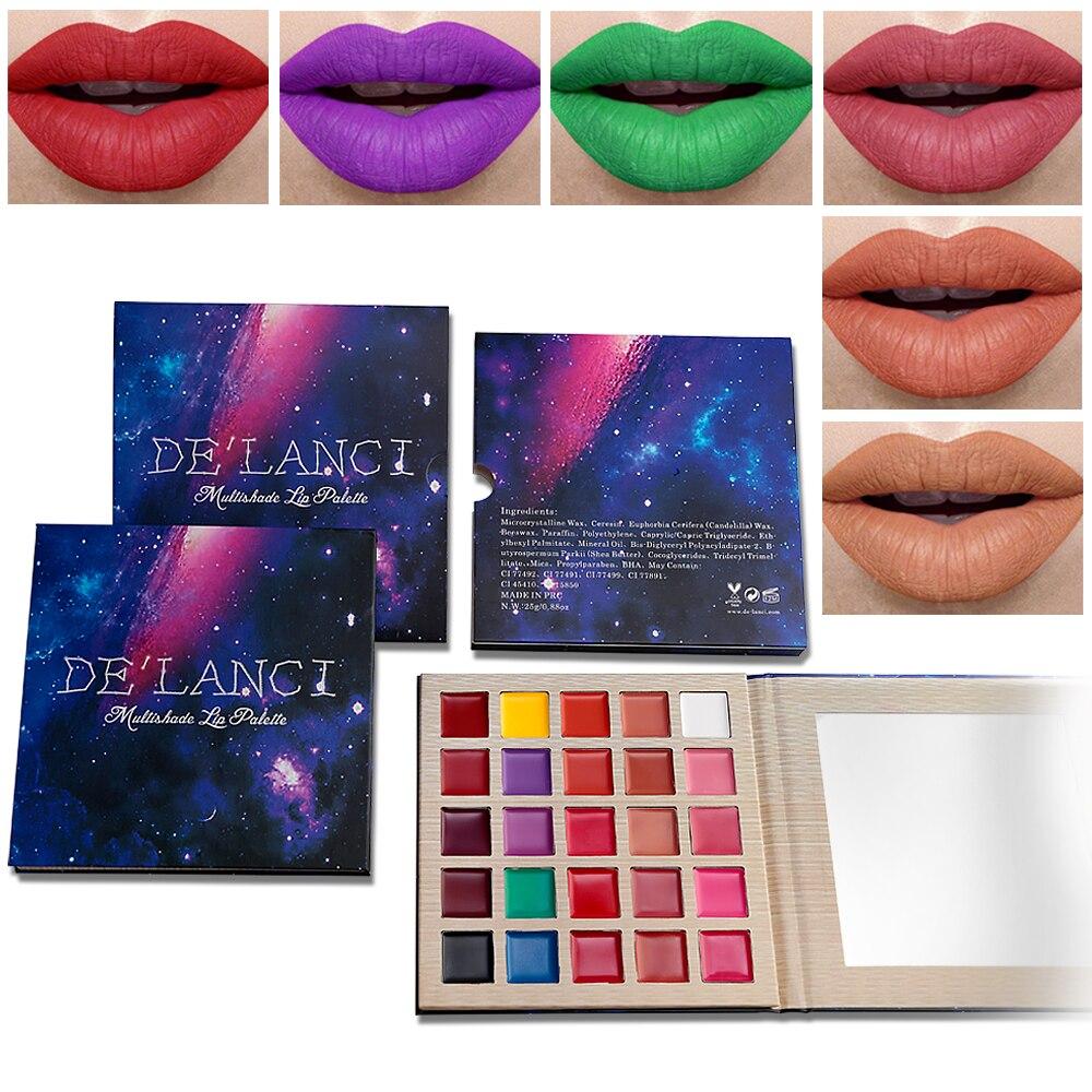 25 Colors Matte Lip Palette