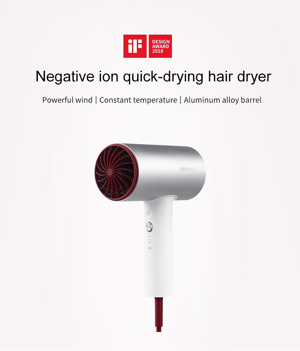 Negative Ion Hair Dryer