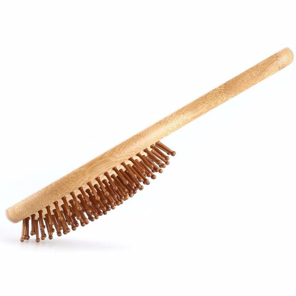 Anti-Static Bamboo Massage Hair Comb