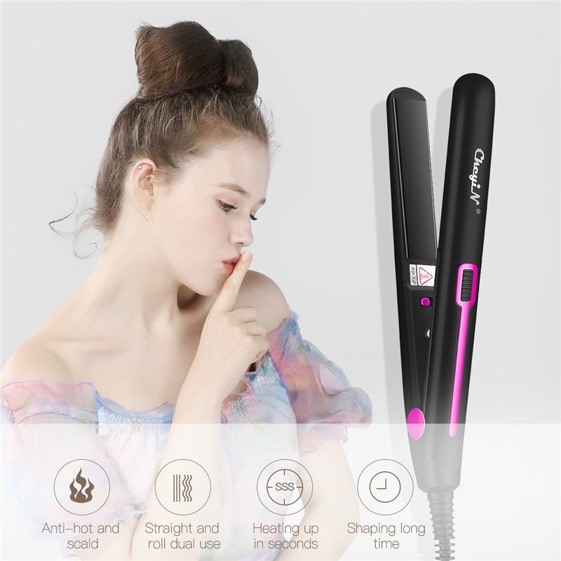 2 in 1 Mini Hair Straightener