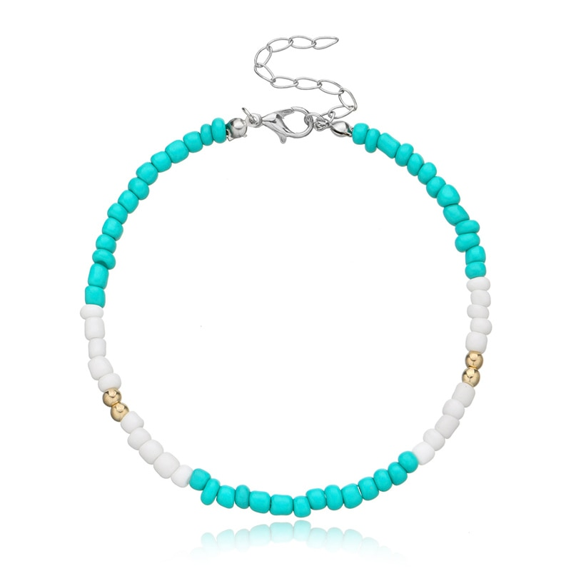 Colorful Ankle Bracelet for Summer