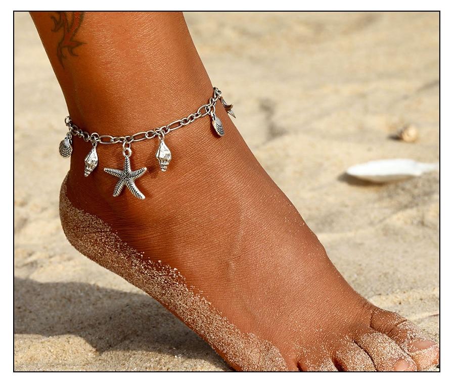 Women's Boho Anklet