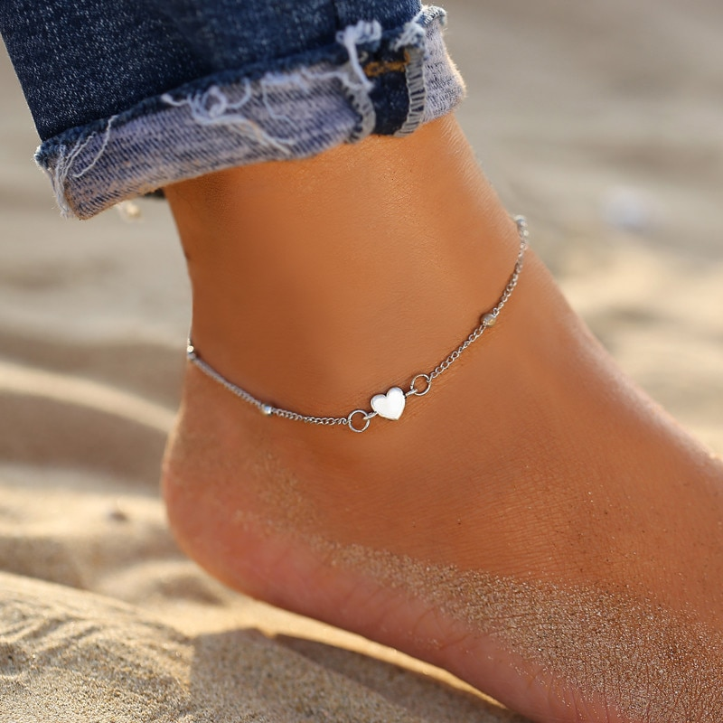 Fashion Colorful Crystal Beads Anklet