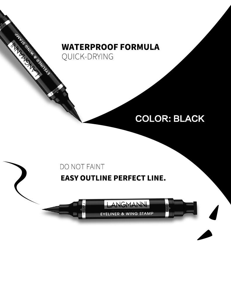 Double-Head Waterproof Liquid Eyeliner
