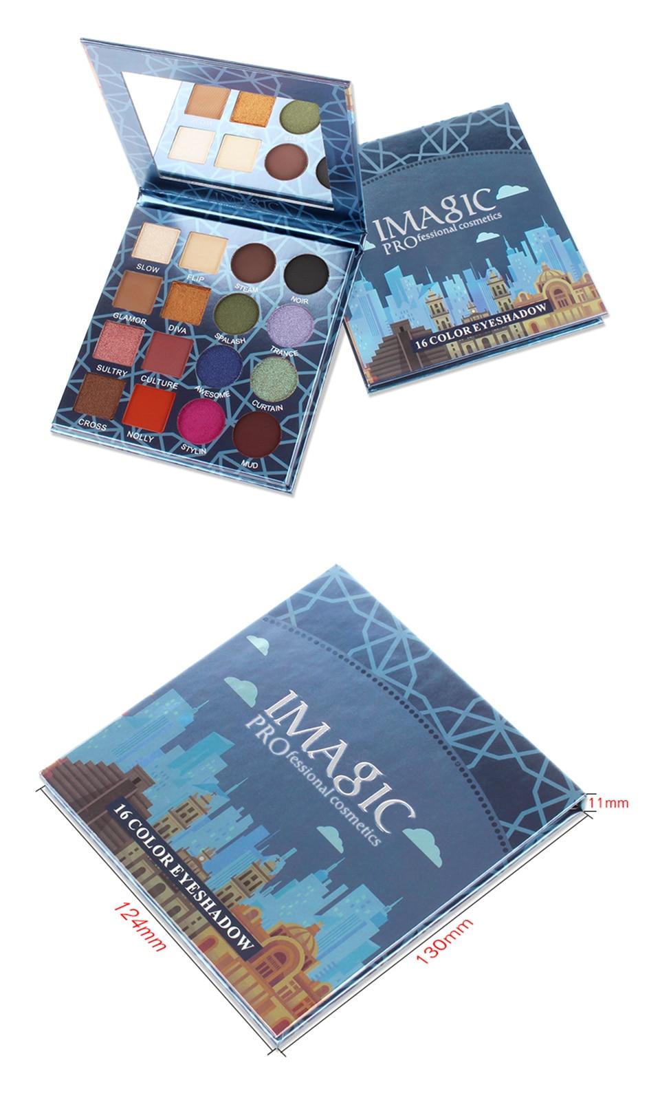 Charming Shimmer Eyeshadows 16 Colors Set