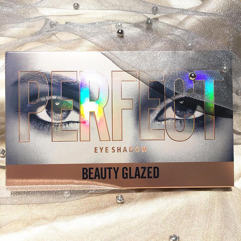 Glitter and Matte Eyeshadow Pallete