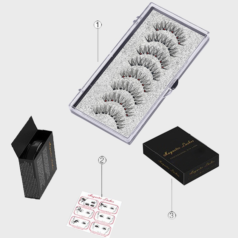 6D Magnetic Eyelashes Kit