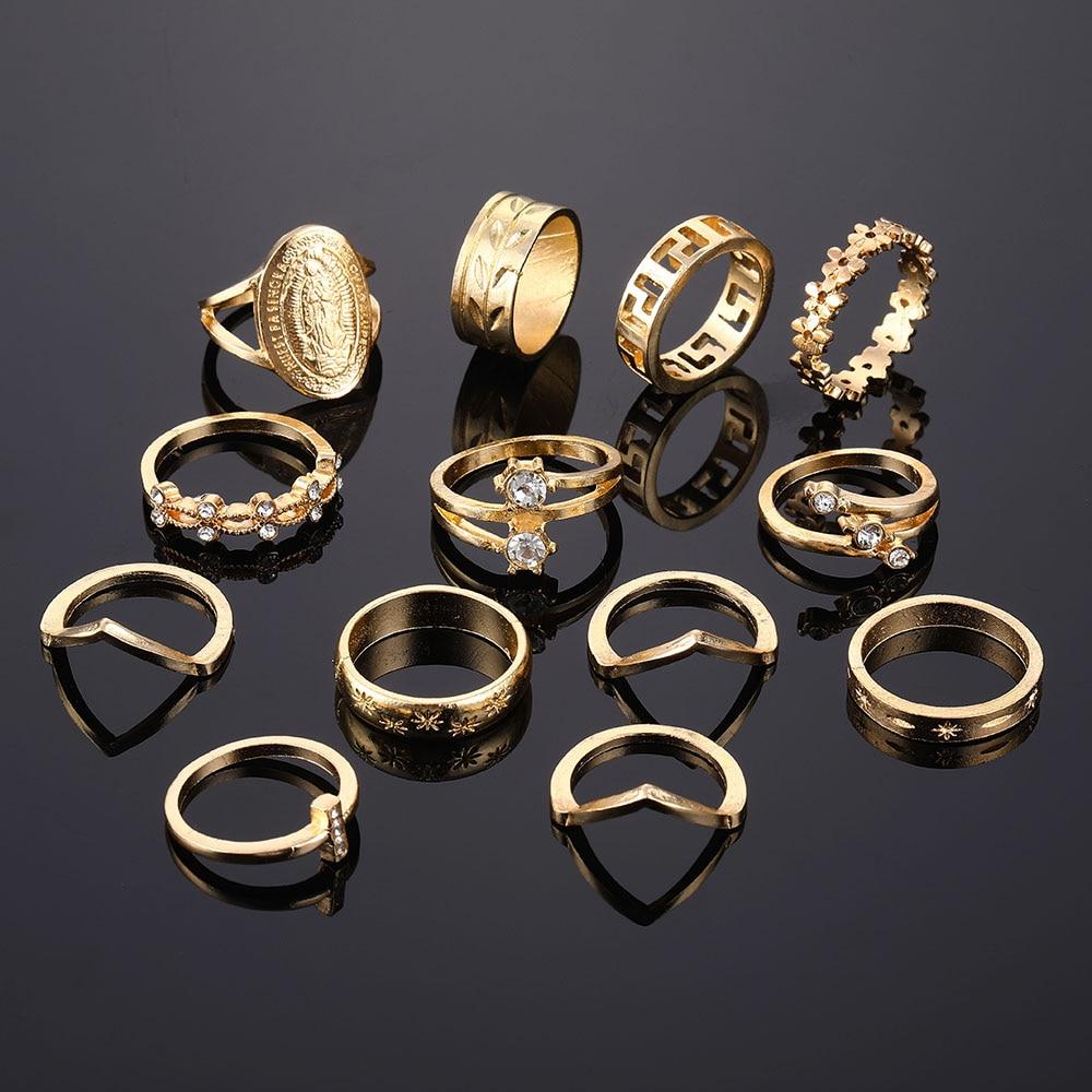 Vintage Styled Rings Set