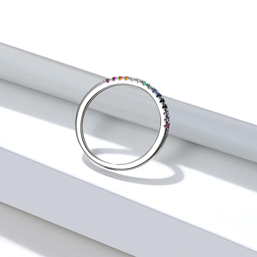 Women's Rainbow Color Finger Ring