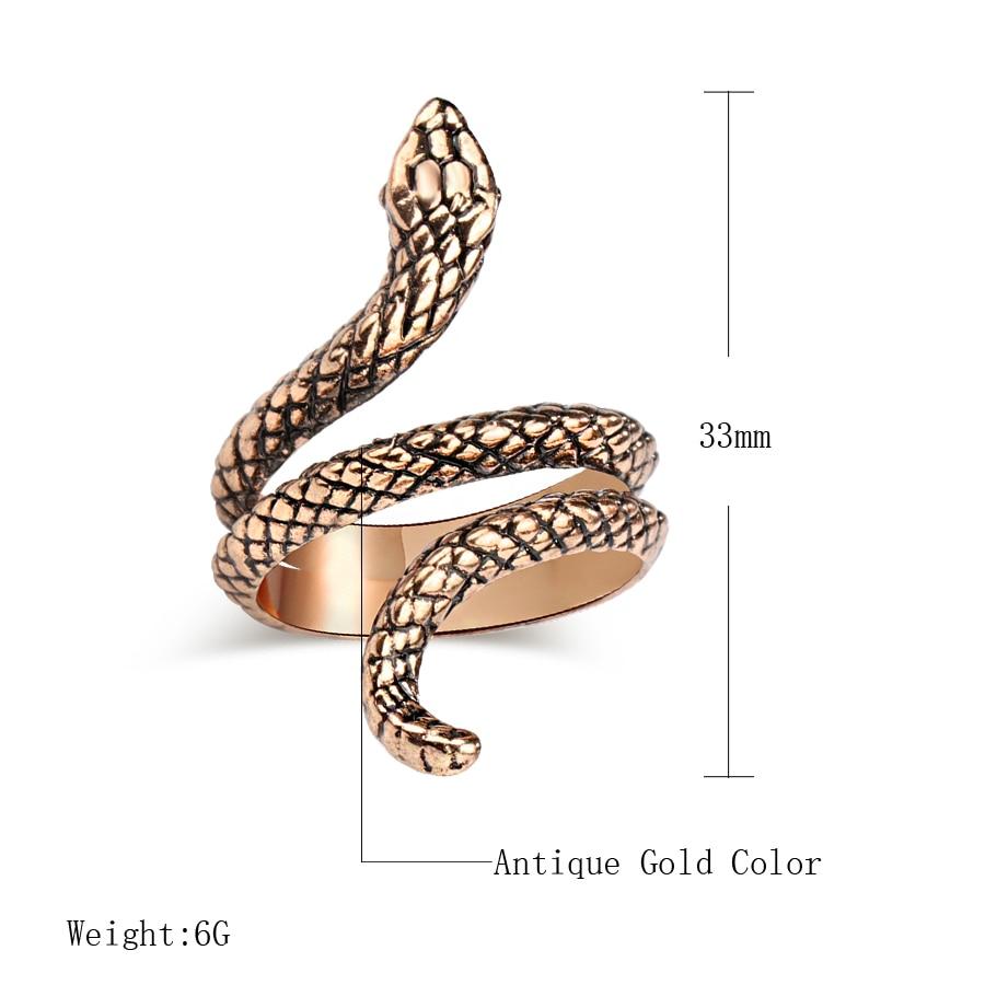 Women's Snake Multilayer Ring